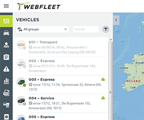 TomTom Webfleet (Monthly Subscription)