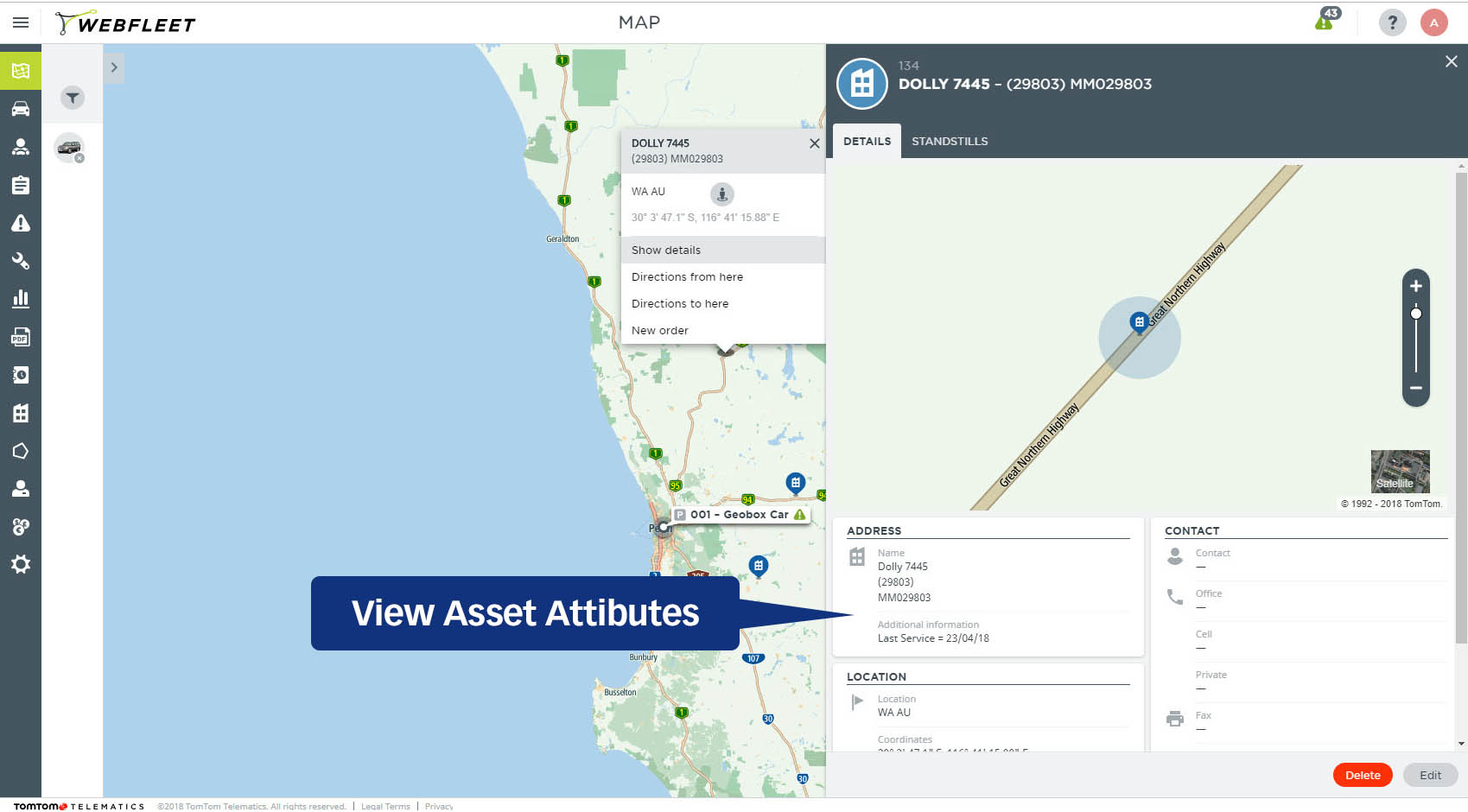 Geobox enables Webfleet Trailer Tracking
