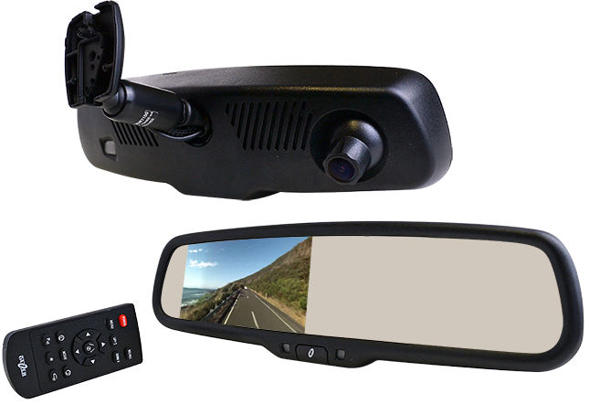 Gazer MUR7100 Integrated rear-view mirror and dash cam
